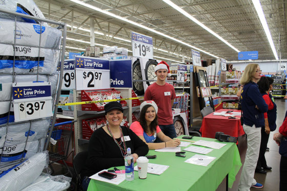 Three Joy of Giving Volunteers | The Joy of Giving supports families in need in Collier County